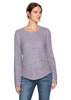 Jones New York Women's Easy Fit Pullover With Shirtail Hem  S