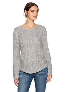 Jones New York Women's Easy Fit Pullover with Shirtail Hem  XS