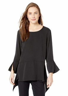 Jones New York Women's Elongated Side Panel Top  L