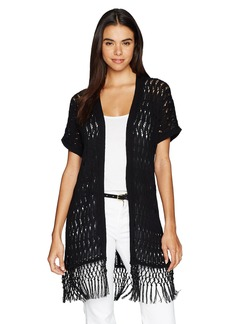 Jones New York Women's Extend Slv Long Open FRT Cardigan  XS