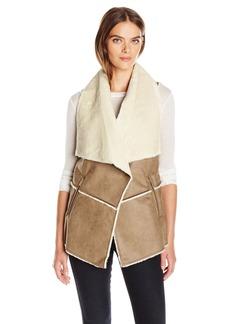 Jones New York Women's Faux Sherpa Vest