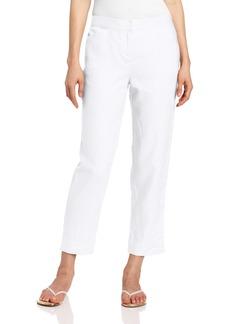 Jones New York Women's Flat Front Pant