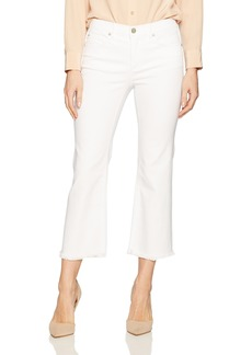 Jones New York Women's Fray Hem Jean