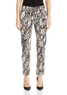 Jones New York Women's Grace Ankle Viper Print Pant