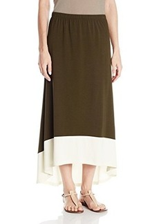 Jones New York Women's Hi-Low Maxi Skirt