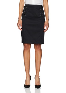 Jones New York Women's Lace up Skirt