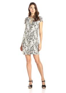 Jones New York Women's Lace-Up Tunic Dress