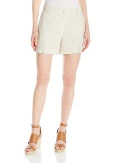 Jones New York Women's Linen Washed Short