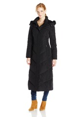 Jones New York Women's Long Maxi Down Coat