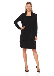 Jones New York Women's LS Cascade Mock Cardigan  XL