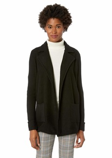 Jones New York Women's L/SLV Boiled Wool Jacket  S