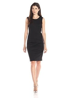 Jones New York Women's Mallory Ponte Sheath Dress
