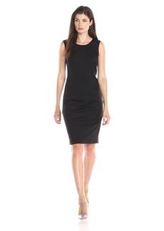 Jones New York Women's Mallory Ponte Sheath Dress JBlack