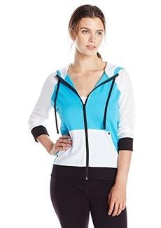 Jones New York Women's Mesh Sleeve Jacket