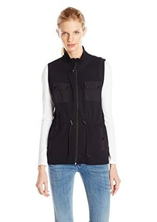 Jones New York Women's Mock Neck Vest