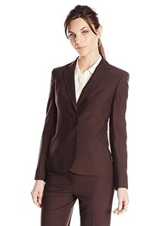 Jones New York Women's Notch Clear Jacket with Triple Waist