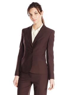 Jones New York Women's Notch Clear Jacket With Triple Waist