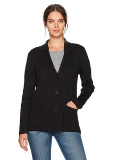 Jones New York Women's Notch Collar Sweater Jacket  M