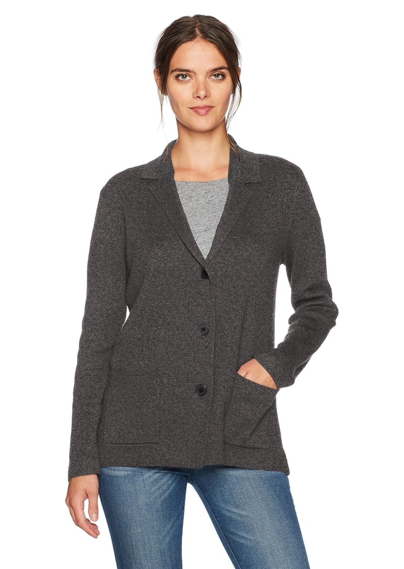 Jones New York Women's Notch Collar Sweater Jacket  S