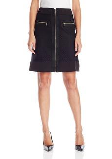 Jones New York Women's Novelty Combo Skirt