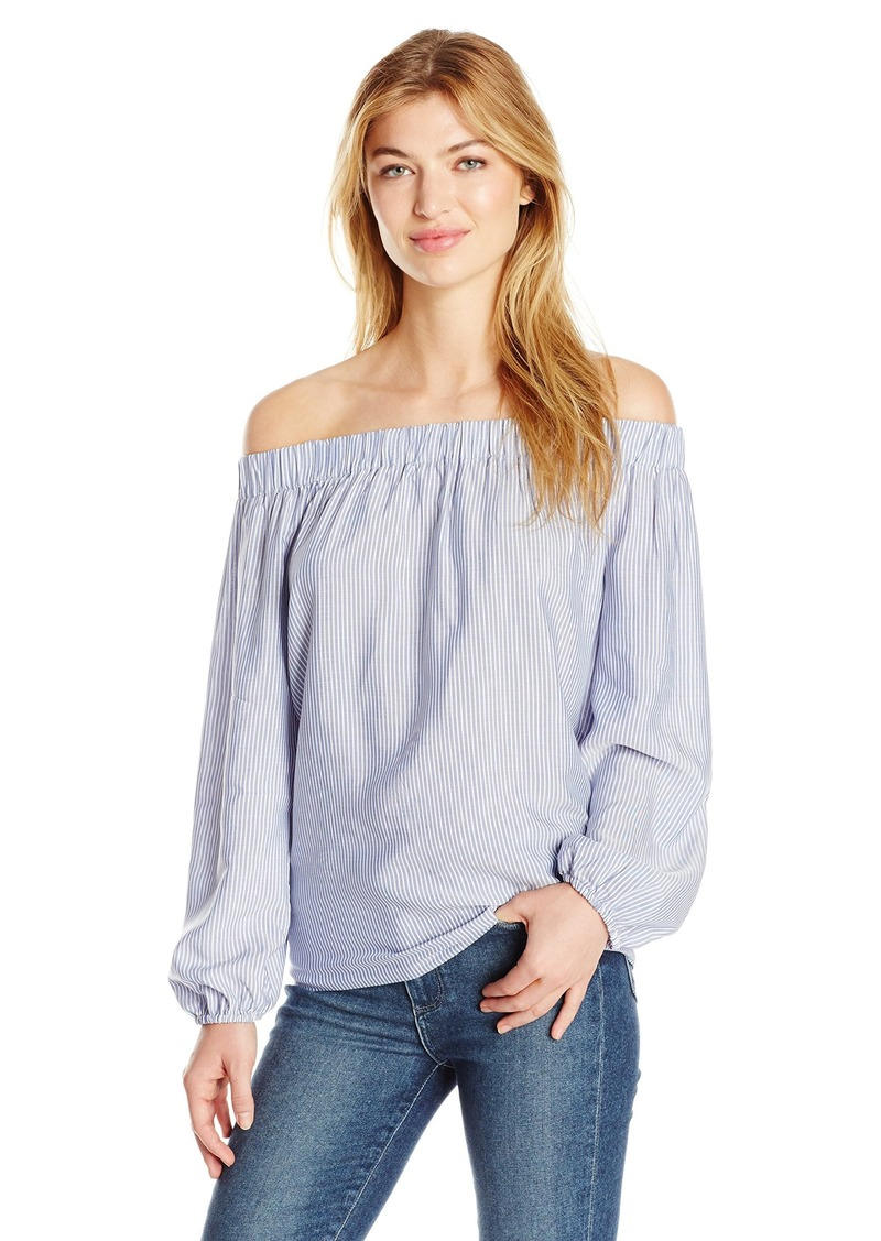 Jones New York Women's Off Shoulder Peasant Top  L