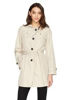 Jones New York Women's Packable Trench Coat  L