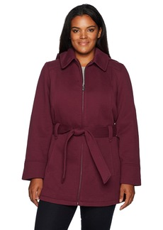Jones New York Women's Plus Pluz Size Zip Front Sweatshirt Fleeece Jacket  2X