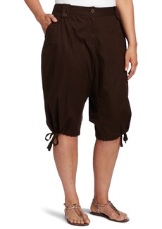 Jones New York Women's Plus-Size Cargo Skimmer Pant  W