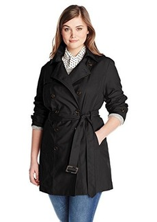 Jones New York Women's Plus-Size Double Breasted Trench Coat  3X