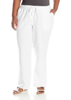 Jones New York Women's Plus Size Full Length Pull On Pant