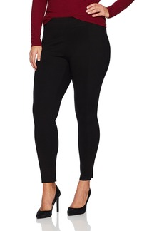 Jones New York Women's Plus Size High Waist Band Slim Fit Pant