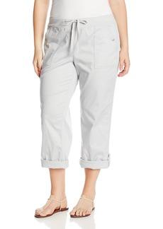 Jones New York Women's Plus Size Roll Up Cargo Pant