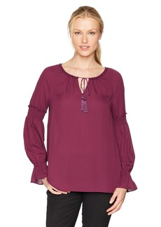Jones New York Women's Poet Sleeve Top  XL