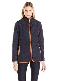 Jones New York Women's Quilted Barn Jacket
