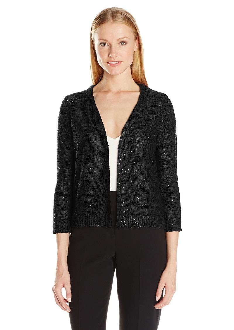 89a43c52b70 Jones New York Jones New York Women s Sequin Tunic Sweater S