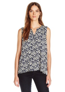 Jones New York Women's Sleeveless Easy Split Back Pull Over