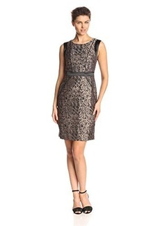 Jones New York Women's Sleeveless Printed Dress