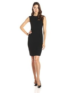 Jones New York Women's Sleeveless Seamed Dress