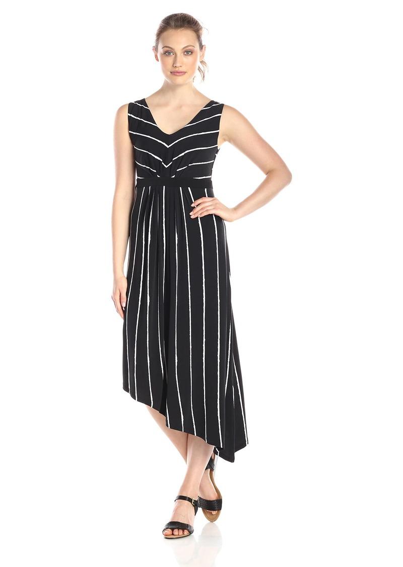 Jones New York Women's Sleeveless V-Neck Dress