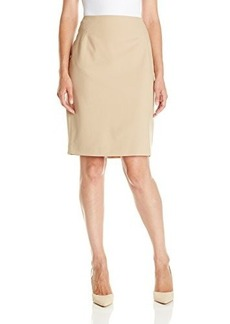Jones New York Women's Slim Skirt with Criss Cross Darts