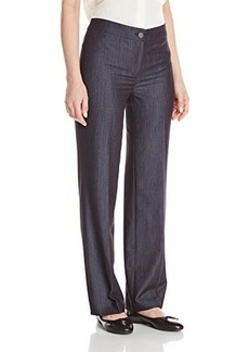 Jones New York Women's Sloane Dressy Denim Seasonless Straight Cardigan Pant