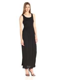 Jones New York Women's Slvless Scoop NK Maxi Dress  M