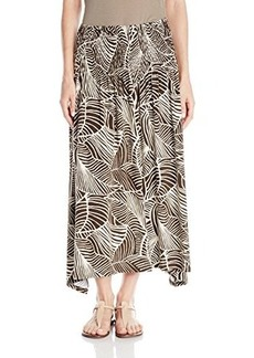 Jones New York Women's Smock Maxi Skirt