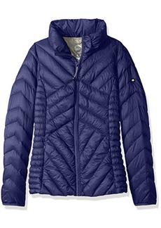 Jones New York Women's Sport Short Packable Down Jacket