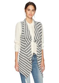 Jones New York Women's Striped Tape Sweater Vest  M