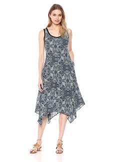 Jones New York Women's Summer Paisley PRT Handkerchief Dress