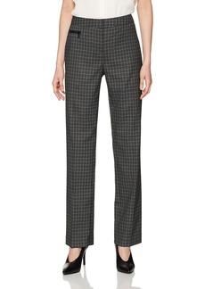 Jones New York Women's Sydney Pant W/Exposed Zip
