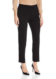 Jones New York Women's Textured Crepe Pin-Tuck Skinny Pant