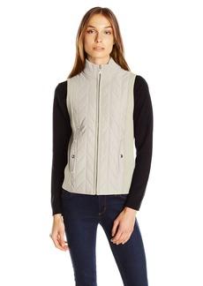 Jones New York Women's Turtleneck Zip Vest