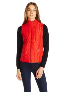Jones New York Women's Turtleneck Zip Vest